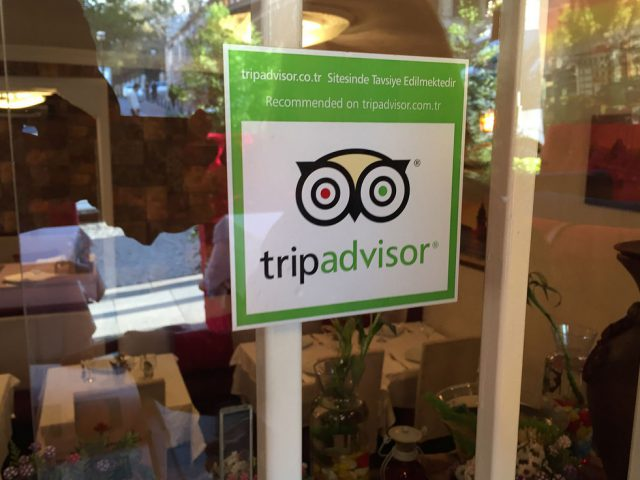 oudejaars Radar: Tripadvisor