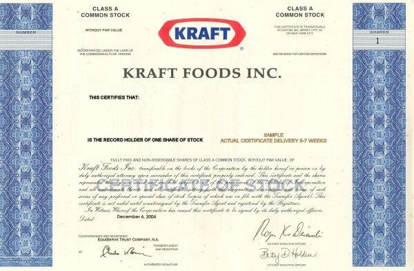 Radar: Kraft Heinz
