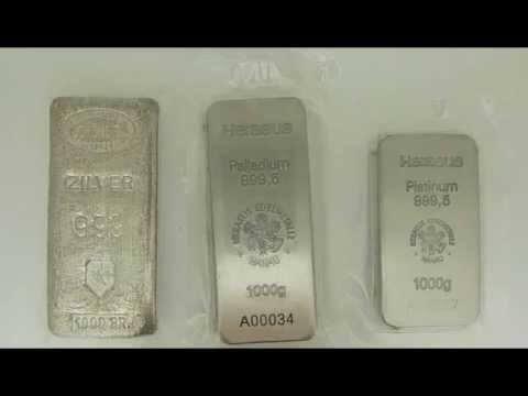 Palladium staat garant voor een mooie stijging van Zilver